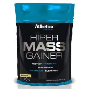 Hiper Mass Gainer PRO SERIES (3kg) BAUNILHA – Atlhetica Nutrition