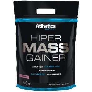 Hiper Mass Gainer PRO SERIES (3kg) MORANGO – Atlhetica Nutrition