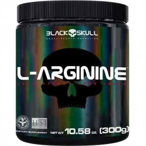 L-ARGININE (300g) LEMON – Black Skull