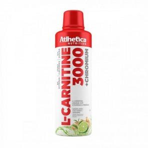 L-CARNITINE 3000 (480ml) LIMÃO CHÁ VERDE GENGIBRE – Atlhetica Nutrition