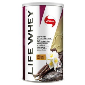 Life Whey (450g) BAUNILHA NATURAL – Vitafor
