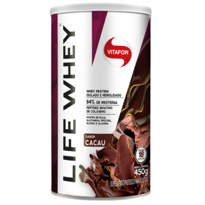 Life Whey (450g) CACAU – Vitafor