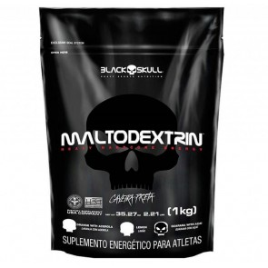 MALTODEXTRIN (1kg) GUARANÁ WITH AÇAÍ – Black Skull