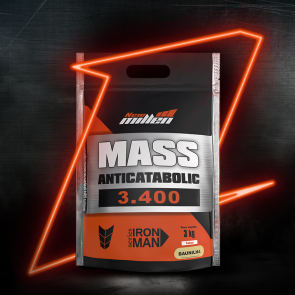 Mass Anticatabolic 3400 (3kg) BAUNILHA – New Millen