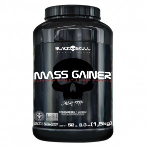 Mass Gainer (1,5kg) STRAWBERRY – Black Skull