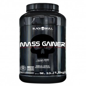 Mass Gainer (1,5kg) VANILLA – Black Skull