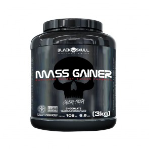 Mass Gainer (3kg) CHOCOLATE – Black Skull