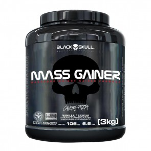 Mass Gainer (3kg) VANILLA – Black Skull