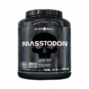 MASSTODON (3kg) STRAWBERRY – Black Skull