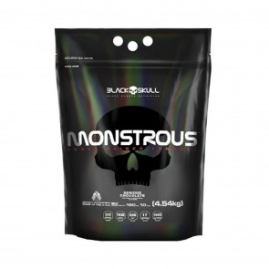 MONSTROUS (10 Lbs - 4.54kg) SERIOUS CHOCOLATE – Black Skull