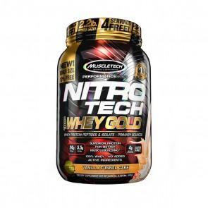 Nitro Tech 100% Whey Gold (2.20lbs) VANILLA FUNNEL CAKE – Muscletech