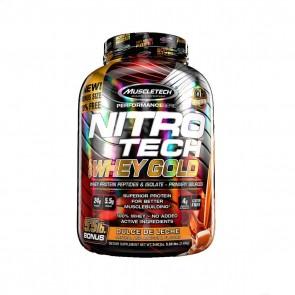 Nitro Tech 100% Whey Gold (5.50lbs) DULCE DE LECHE – Muscletech