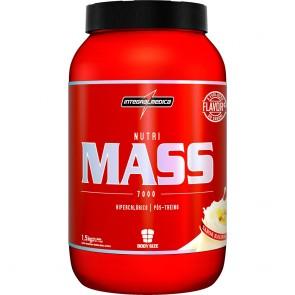 Nutri Mass Pote Baunilha (1,5kg) - Integralmedica