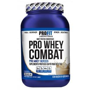 Pro Whey Combat (Pote) (907g) BAUNILHA – Profit