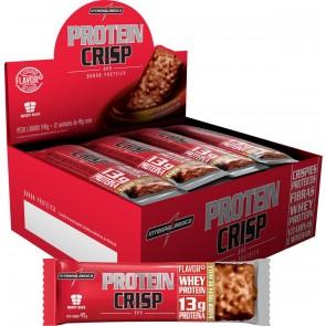 Protein Crisp Bar (540g 12unid.) TRUFA DE AVELÃ – INTEGRALMEDICA