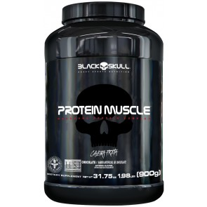 PROTEIN MUSCLE (900g) CHOCOLATE – Black Skull