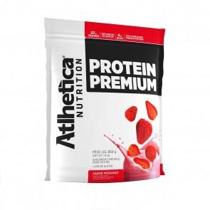 Protein Premium (850g) MORANGO – Atlhetica Nutrition