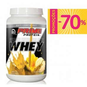 Prime Whey Protein Concentrate BAUNILHA (908g) - SES Nutrition
