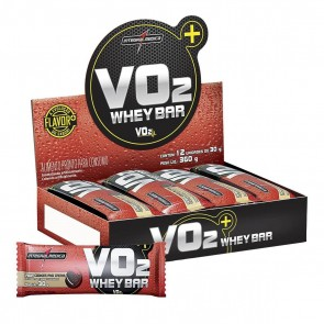 VO2 Whey Bar (360g 12 unid.) COOKIES – INTEGRALMEDICA