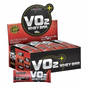 VO2 Whey Bar (720g 24 unid.) CHOCOLATE – INTEGRALMEDICA