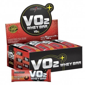 VO2 Whey Bar (720g 24 unid.) PÃO DE MEL – INTEGRALMEDICA