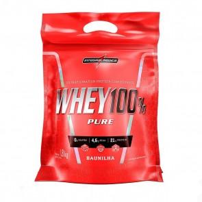 Whey 100% Pure (1,8kg REFIL) BAUNILHA – INTEGRALMEDICA