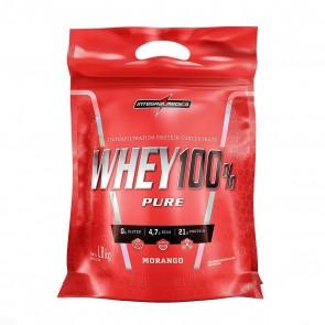 Whey 100% Pure (1,8kg REFIL) MORANGO – INTEGRALMEDICA