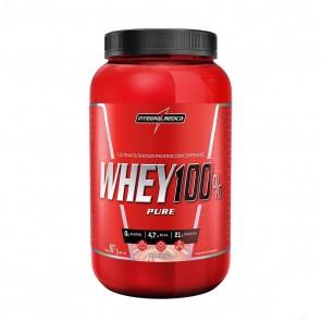 Whey 100% Pure (907g) MORANGO – INTEGRALMEDICA