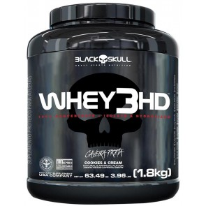 WHEY 3HD (1,8kg) COOKIES & CREAM – Black Skull