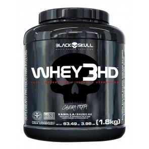 WHEY 3HD (1,8kg) VANILLA – Black Skull