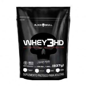 WHEY 3HD (837g REFIL) CHOCOLATE – Black Skull