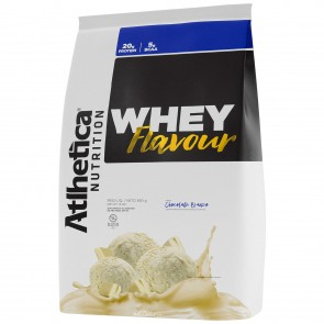 Whey Flavour (850g) CHOCOLATE BRANCO – Atlhetica Nutrition
