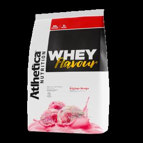 Whey Flavour (850g) MILK-SHAKE DE MORANGO – Atlhetica Nutrition