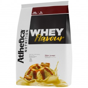 Whey Flavour (850g) SALTED CARAMEL – Atlhetica Nutrition