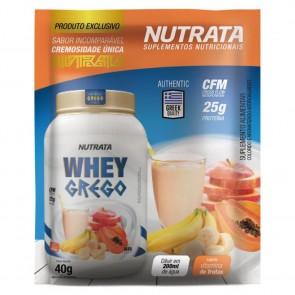 Whey Grego (40g) VITAMINA DE FRUTAS – Nutrata